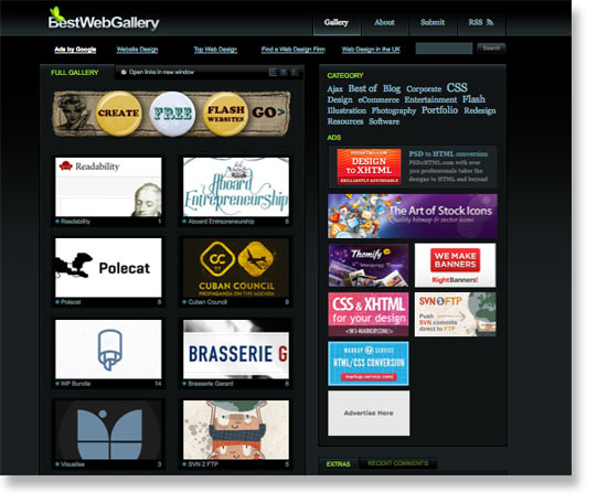 bestwebgallery web designers in canada usa and mexico