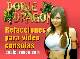 doble dragon, refacciones Playstation, PSP, xbox, Nintendo Wii, DSLite, samsung y lasers