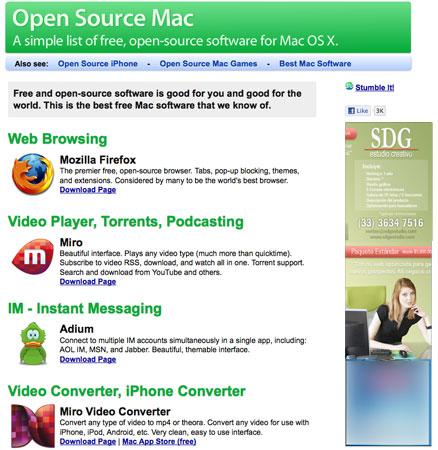 Programas gratis para mac, respalda tu iPod, cliente de FTP y HTML, DVD ripper para snowleopard