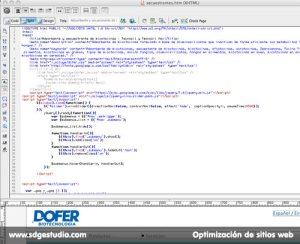 Optimizacion de sitio web para mejoria del posicionamiento en buscadores