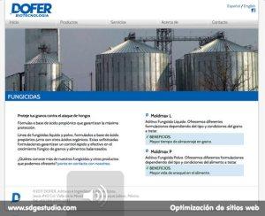 DOFER BIOTECNOLOGÍA: Aditivos Alimenticios, Regulador de pH, adsorbentes de micotoxinas y Fungicidas.