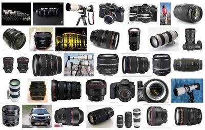 Lentes EF y EF-S Canon - Fotografia Profesional