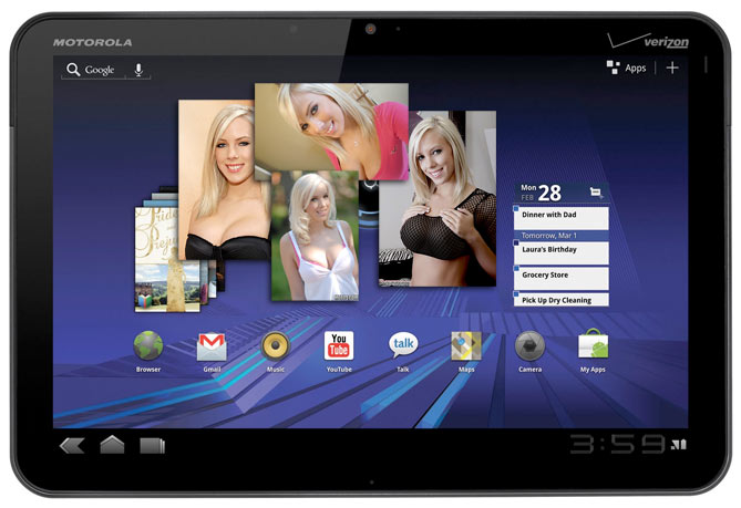 Google supports Android buying Motorola Xoom vs Apple's iPad battle