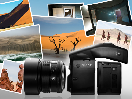 PhaseOne 80 MP camera