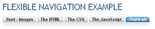 Tabs usando listas con CSS y javascript