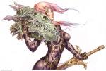 Shunya Yamashita - ilustraciones eroticas y medievales con toque sci fi