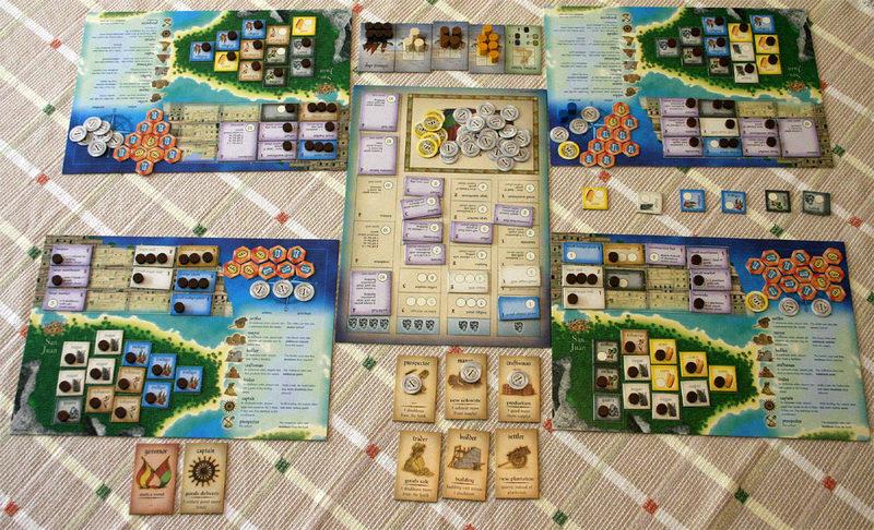 Puerto rico juego de mesa foto arte y ocio for Puerto rico juego de mesa