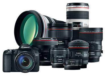 Canon 70D lentes EF y EF-S