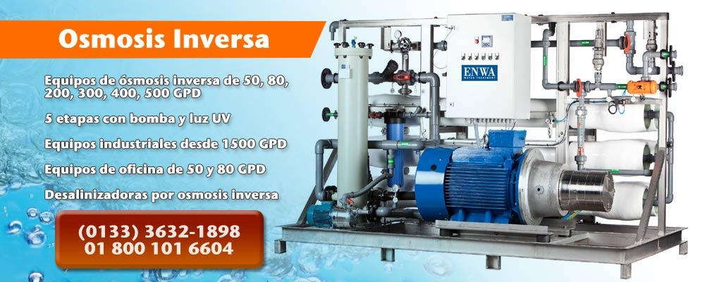osmosis inversa, ultra filtracion, tratamiento de aguas