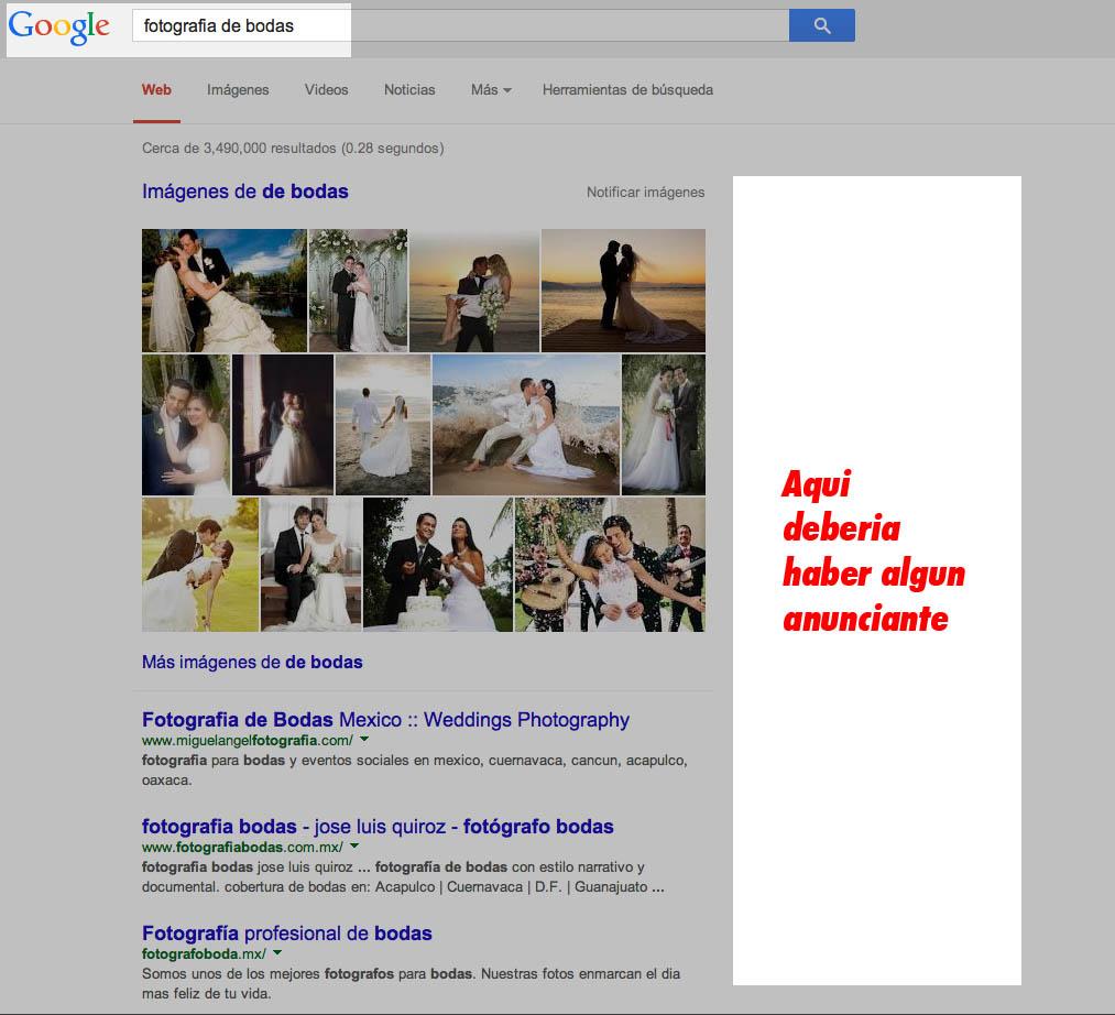 adwords de google cada vez menos redituable