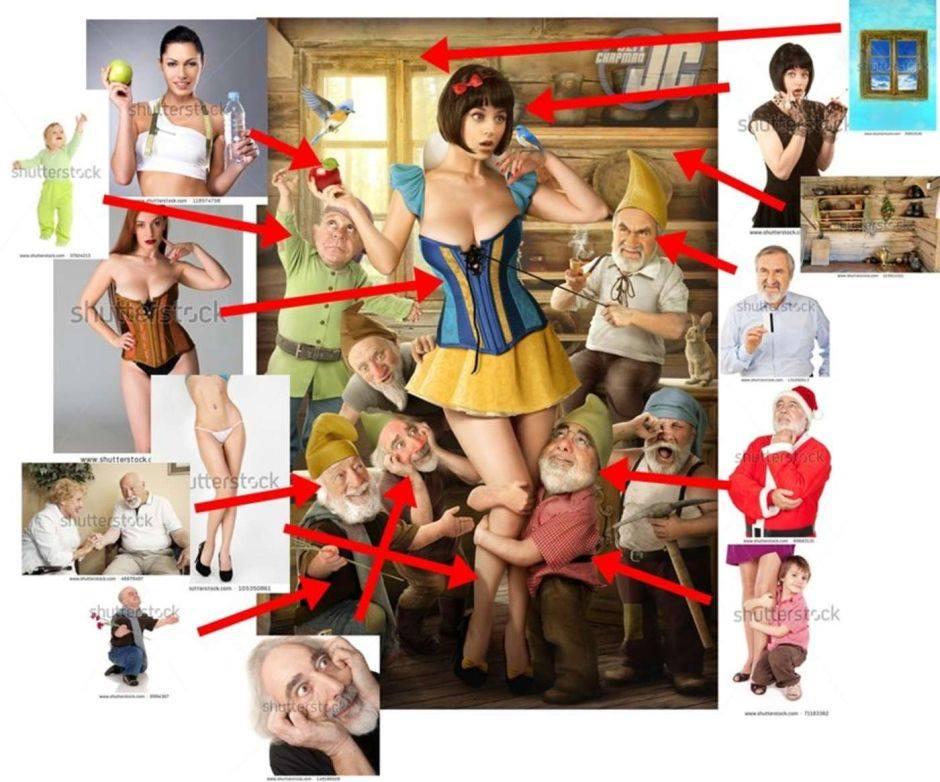 how to illustrate hentai snow white