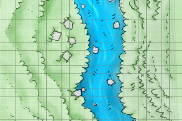map for rpg dnd pathfinder ready to print